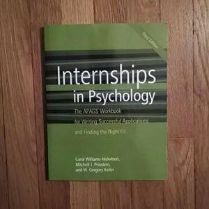 Accessories - Internships in Psychology Book